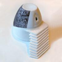 Spaceship, porcelain, 10 cm x 10cm (h/w). Price: 450 NOK